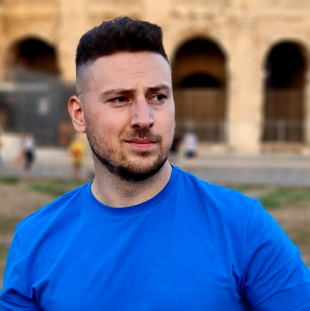 Felice Tommasino al Colosseo, Roma